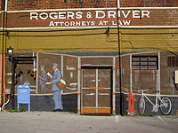 Rogers and Driver Back of Office